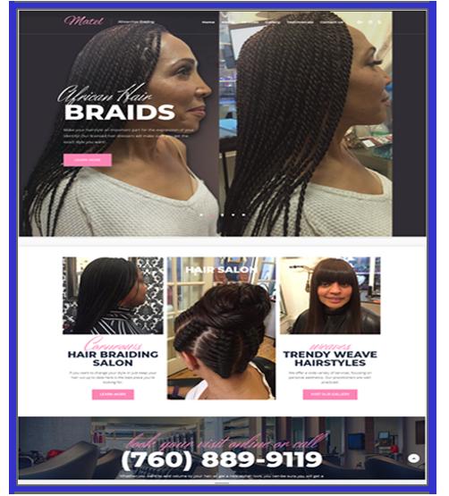 African Hair Braided website