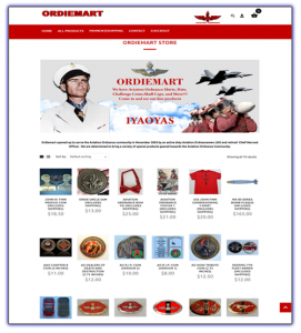 ordiemart.com web design