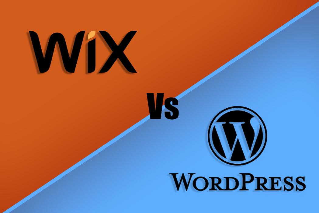 wix-vs-wordpress-logo